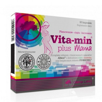 Olimp Vitamin + Mama 30 капсул