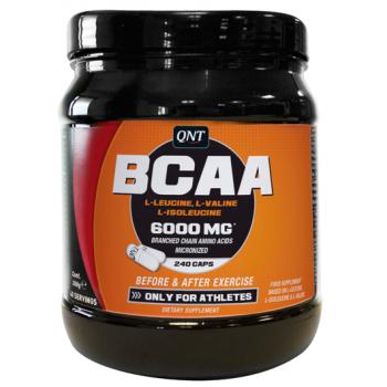 QNT BCAA 6000 240 капсул
