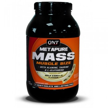 QNT Gainer Metapure Mass + 1100 грамм