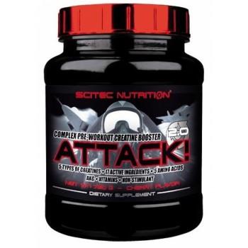 Scitec ATTACK 2.0 720 грамм