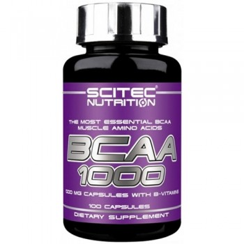 Scitec BCAA 1000 100 капсул