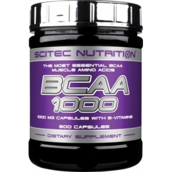 Scitec BCAA 1000 300 капсул