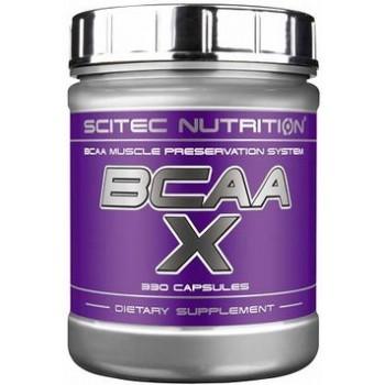 Scitec BCAA X 330 капсул