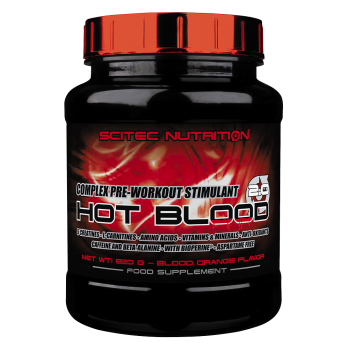 Scitec HOT BLOOD 3.0 820 грамм