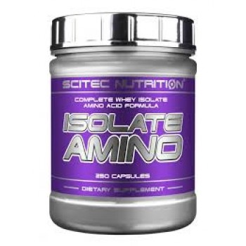 Scitec Isolate Amino 250 капсул
