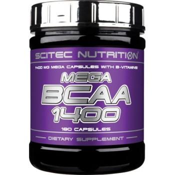 Scitec MEGA BCAA 1400 180 капсул