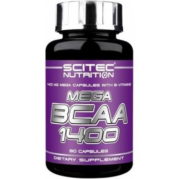 Scitec MEGA BCAA 1400 90 капсул