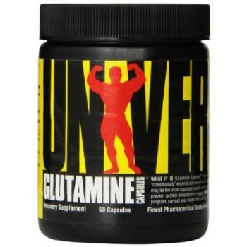 Universal Glutamine Caps 50 капсул