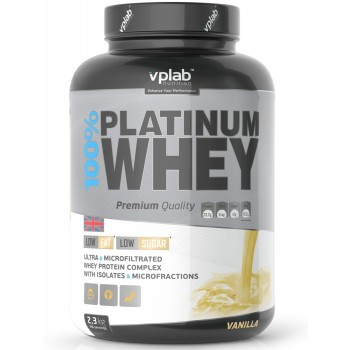 VP Lab 100% PLATINUM  WHEY 2300 грамм