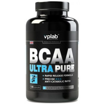 VP Lab BCAA ULTRA PURE 120 капсул
