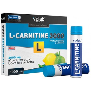 VP Lab L-Carnitine, 3000 7 ампул