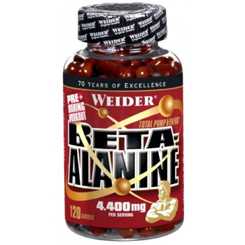 Weider Beta-Alanine 120 капсул