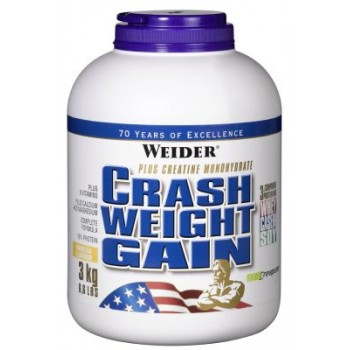 Weider Crash Weight Gain 3000 грамм