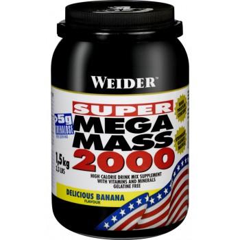 Weider Mega Mass 2000 1500 грамм
